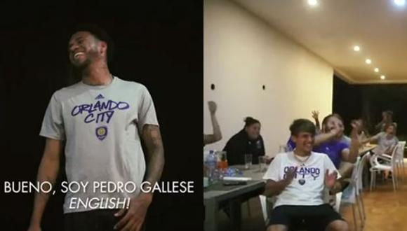 Pedro Gallese habló en inglés, hizo el ridículo y provocó carcajadas de sus compañeros en Orlando City