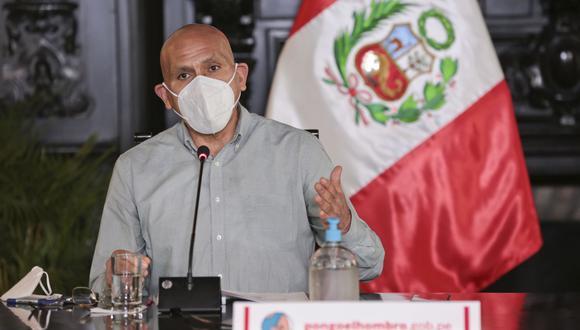 La presentación de los ministros se desarrollará en la Sala Acuerdo Nacional. (Foto: Andina)