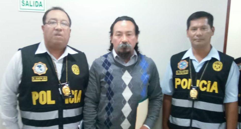 Líder del Frepap aseguró a las autoridades que se encontraba haciendo sus actividades con normalidad. (Fuente: PNP)