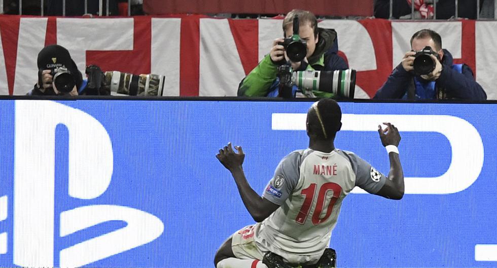 Liverpool adelanta en el marcador con gol de Sadio Mané
