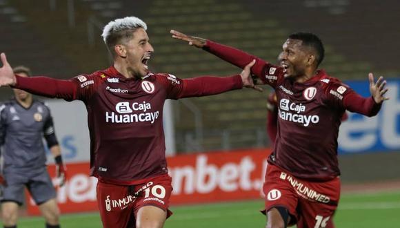 Universitario mantiene su invicto desde el reinicio de la Liga 1