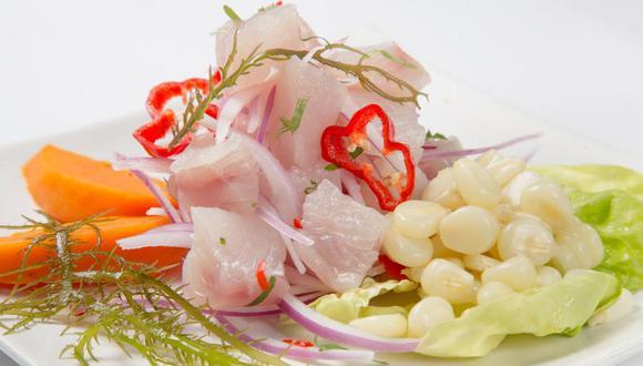 El Cebiche de pescado es el abanderado de la gastronomía del Perú. (Foto: Shutterstock / Archivo GEC)