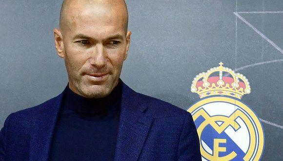Es oficial. Zinedine Zidane regresa al banquillo del Real Madrid. (Foto: Reuters)