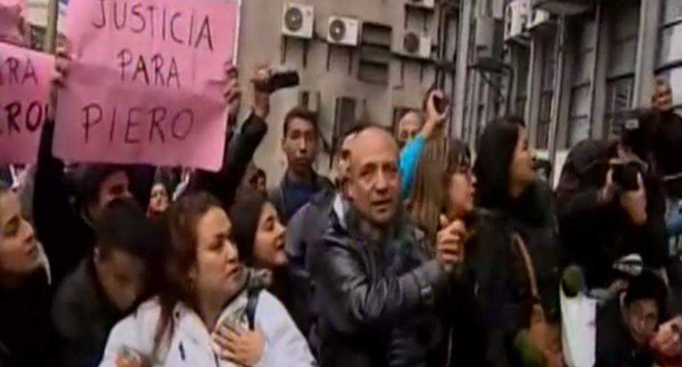 Piero Gaitán García, hijo de Rodolfo Gaitán Castro, fue trasladado a la carceleta del Poder Judicial