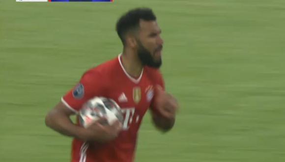 Choupo-Moting puso el descuento para Bayern Munich ante PSG por Champions League.