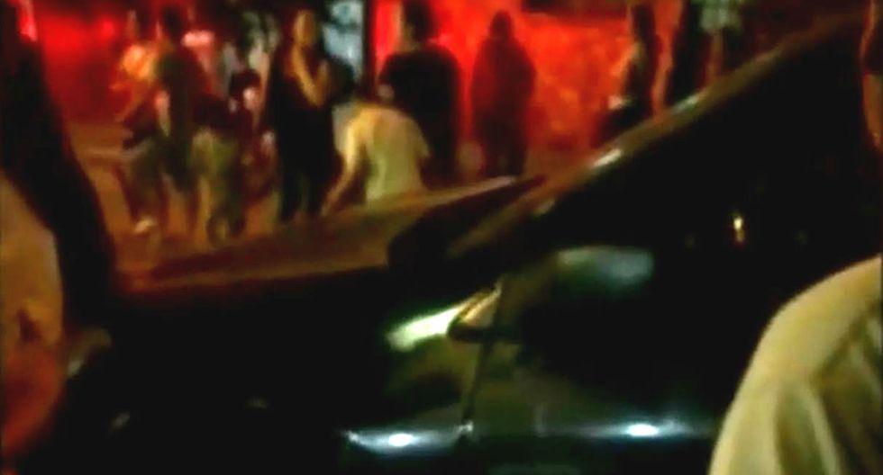 Dos niñas fueron atropelladas por camioneta mientras participaban en chocolatada navideña (TROME)