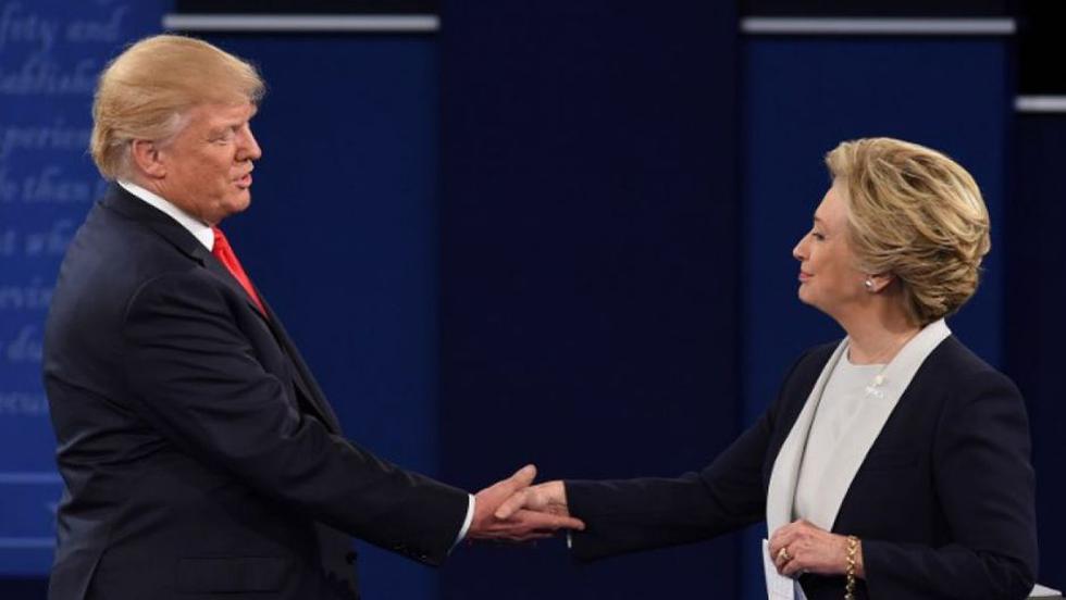 Así fue el segundo debate presidencial en Estados Unidos