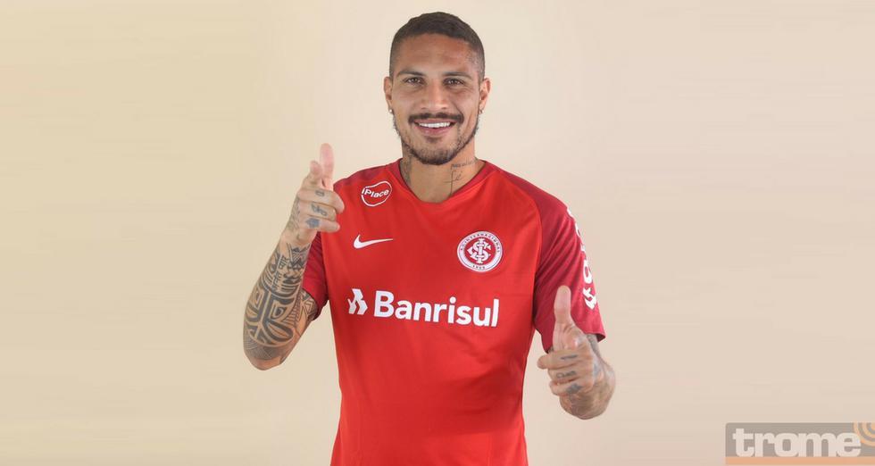 Esta primera sesión de Paolo Guerrero con Inter de Porto Alegre ha sido un éxito en redes sociales