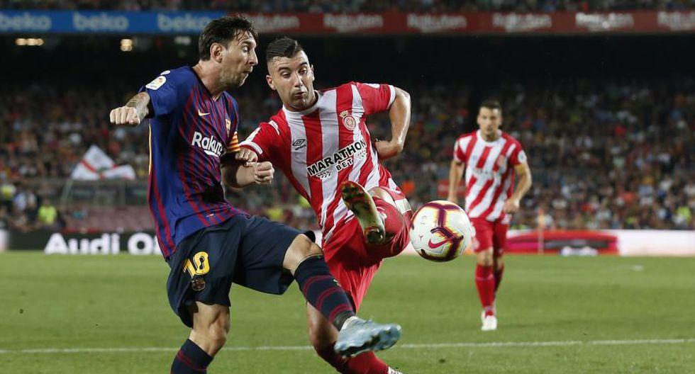 Barceloan y Girona jugarán la vuelta de la Liga Santander en 2019. (Foto: AFP)<br>