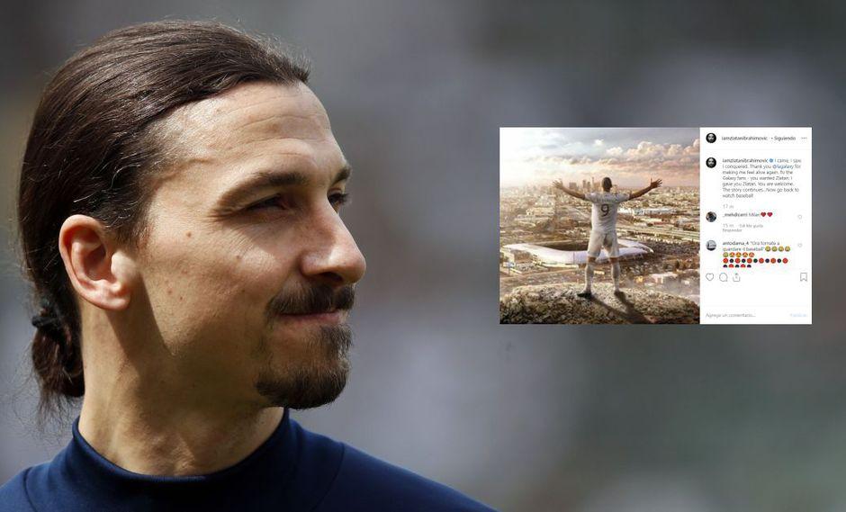 """Zlatan Ibrahimovic, irreverente y arrogante, mandó lejos a la MLS: """"Vuelvan al béisbol"""""""