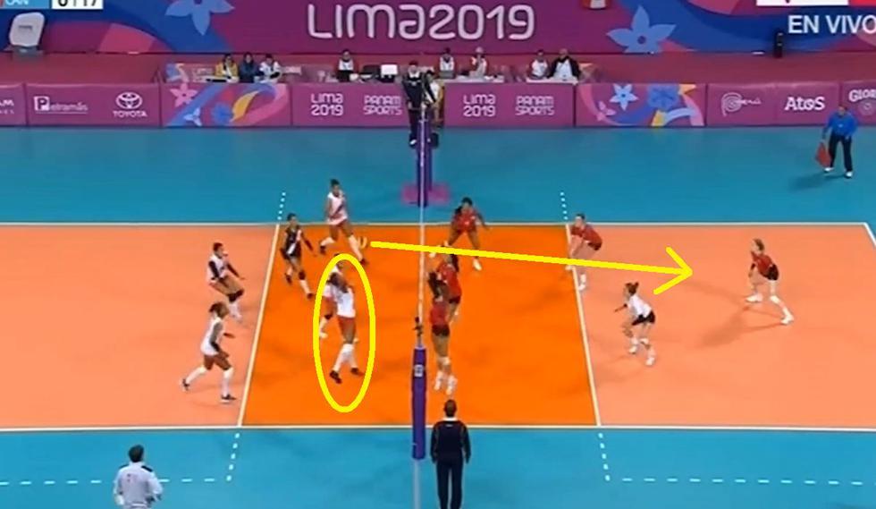 Perú vs Canadá: El puntazo de Clarivett Yllescas que hizo explotar a los hinchas peruanos | Panamericanos Lima 2019