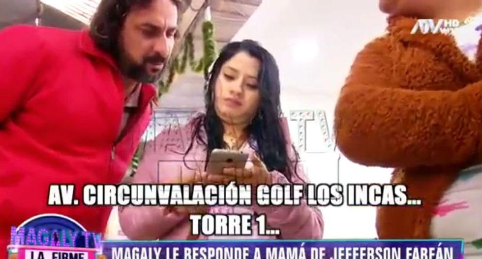 Magaly Medina muestra documentos de Yahaira Plasencia