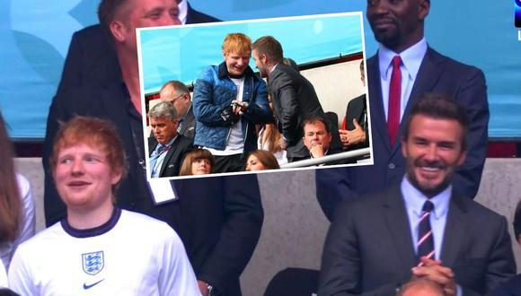 Ed Sheeran apasionado con triunfo de Inglaterra en la Euro 2020 (Captura)