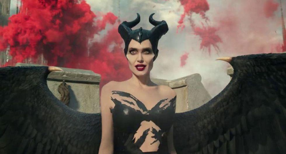 """Angelina Jolie protagoniza el nuevo póster de """"Maléfica: Dueña del mal"""". (Foto: Disney)"""