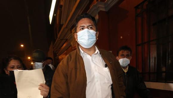 Vladimir Cerrón dijo que el Gobierno debe evaluar traslado de Alberto Fujimori. (Foto: archivo El Comercio)