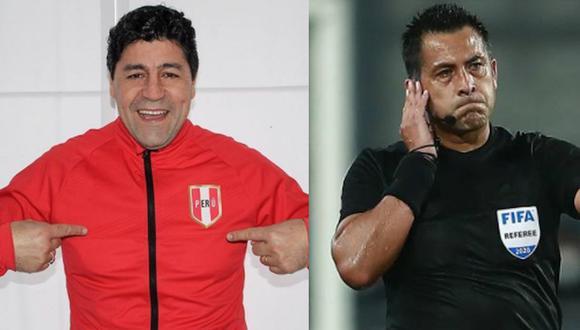 Sergio Ibarra criticó a Julio Bascuñán por polémico arbitraje en el Perú vs Brasil por Eliminatorias Qatar 2022. (Instagram/Agencias)