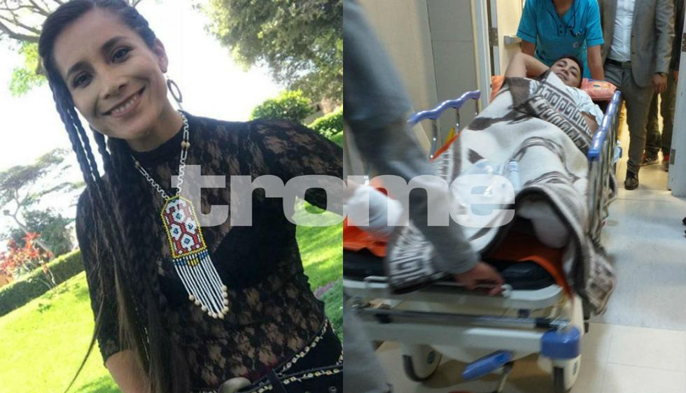 Hermano de la cantante Damaris es baleado por delincuentes que intentaron robarle