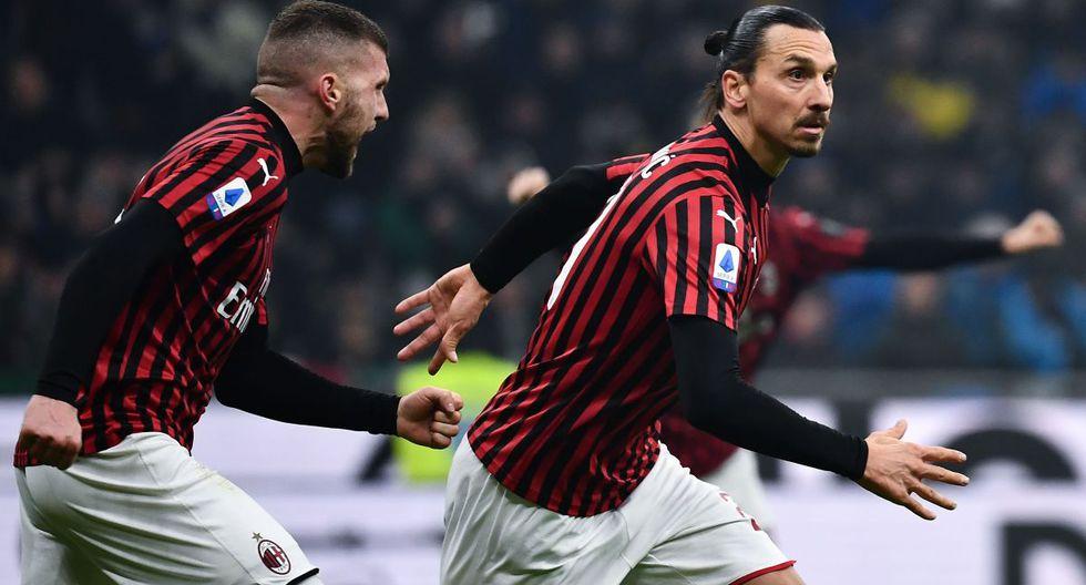 Zlatan Ibrahimovic, gol en Inter vs Milán