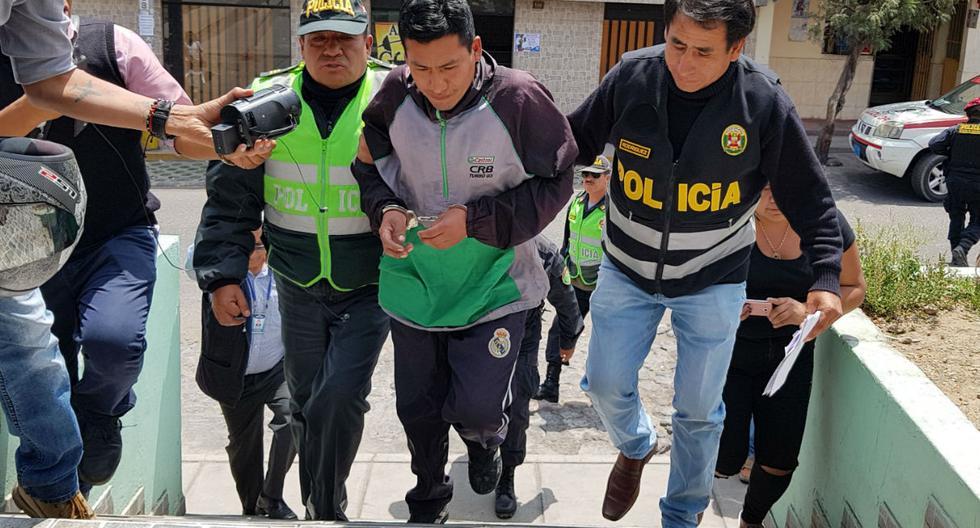 Soldador Raúl Osorio Bustios (36) es acusado de abusar de una niña de 12, hija de su enamorada, quien lo ayudó a escapar. (Fotos: Trome)