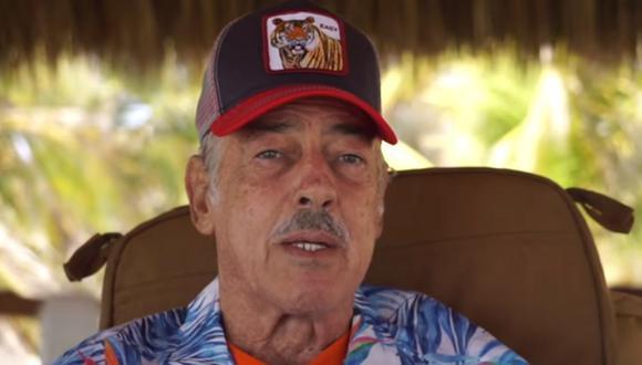 Andrés García  (Foto: Captura YouTube)