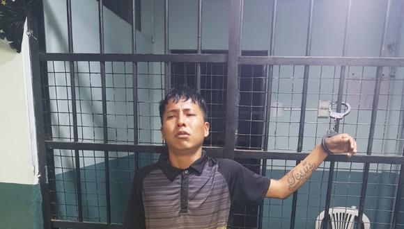 José Antonio Ángeles León (27), en aparente estado de ebriedad, atacó  a puñetes a su expareja por pedirle dinero para comprar leche y otros alimentos para su hijita.