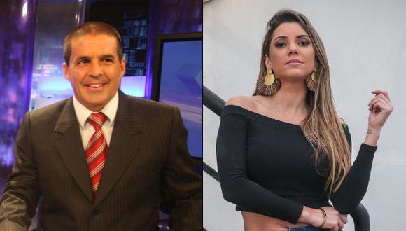Gonzalo Núñez descalificó a Alexandra Hörler con indignante frase contra su género en pleno vivo