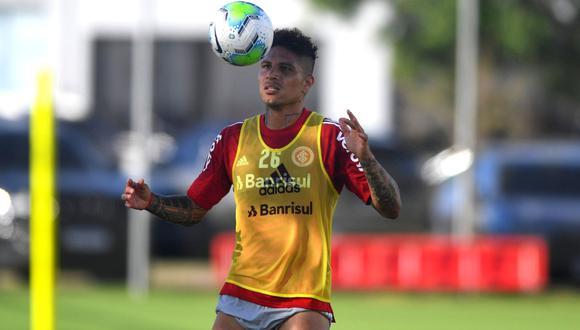 Paolo Guerrero viaja con Inter de Porto Alegre a Río de Janeiro (Foto: @SCinternacional)