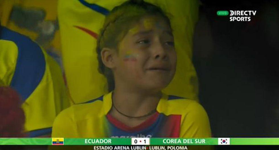 Niña llora