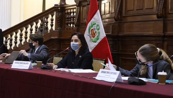 La Comisión de Constitución es presidida por Patricia Juárez, de Fuerza Popular. Foto: Congreso