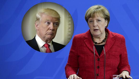 Angela Merkel y su rotundo mensaje a Donald Trump.