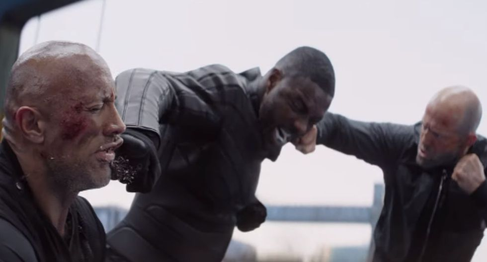 """universal Studios lanzó el segundo tráiler de """"Hobbs & Shaw"""", el esperado spin off de """"Rápidos y furiosos"""". (Foto: Captura de video)"""
