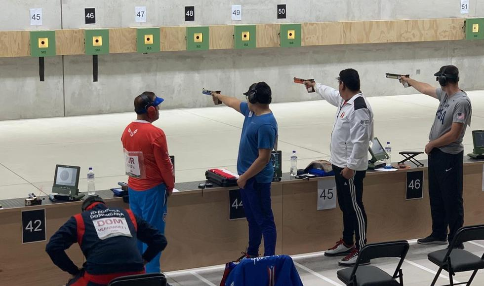 Marko Carrillo compite en Tiro: EN VIVO La prueba de pistola de aire en los Panamericanos 2019
