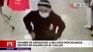 El instante que un sicario asesinó a balazos a sujeto en una barbería de una galería comercial en el Callao | VIDEO