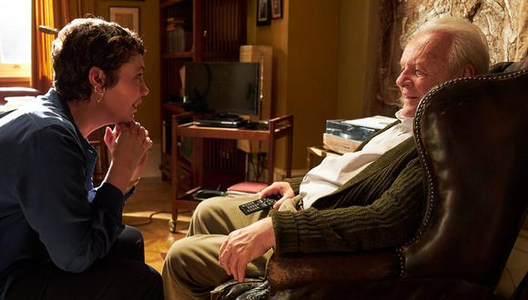 "Anthony Hopkins explora la demencia en la película ""The Father"". (Foto: Sony Pictures)"