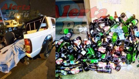 Interior de discoteca de Los Olivos donde ocurrió la tragedia con13 fallecidos (Fotos: Alerta Perú)