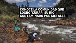 Áncash: Comunidad campesina logró 'curar' su río contaminado por metales