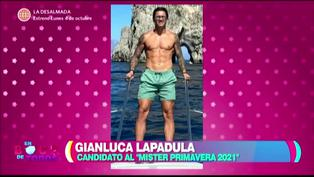 """Gianluca Lapadula Vargas es aspirante al """"Míster Primavera 2021″"""