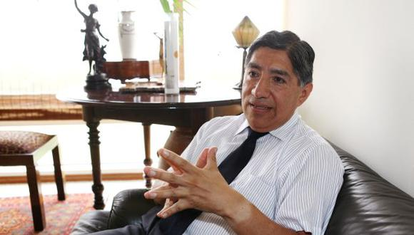Avelino Guillén se sumó al equipo de Perú Libre de cara a la segunda vuelta de las Elecciones 2021. (Foto: Archivo GEC)