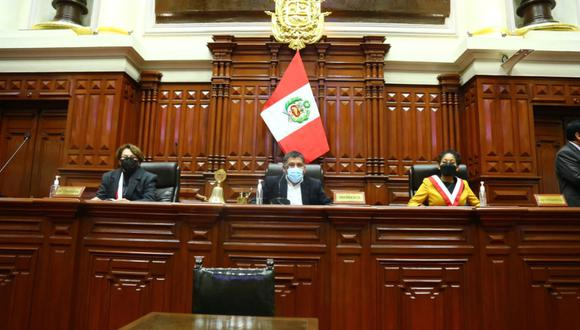 El Congreso elige ese lunes a la Mesa Directiva para el periodo 2021-2022. (Foto: Andina)