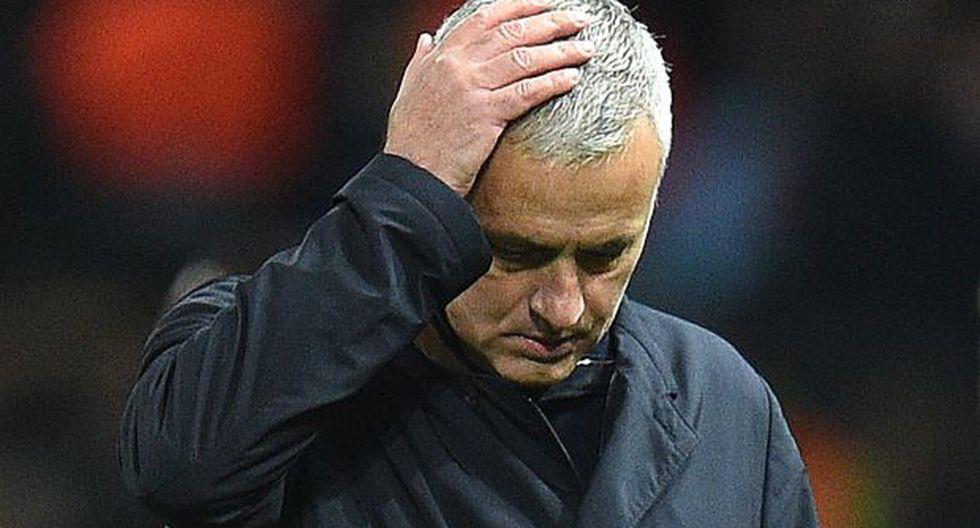 El Manchester United indica que el técnico José Mourinho ha dejado el club. (Foto: AFP)