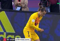 Antoine Griezmann y su gran definición para gol en Barcelona vs Athletic Club por final de Copa del Rey [VIDEO]