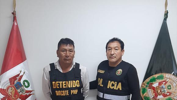 La Libertad. Óscar Cruz fue apresado oculto en la casa de su familia en la provincia de Virú. (PNP)