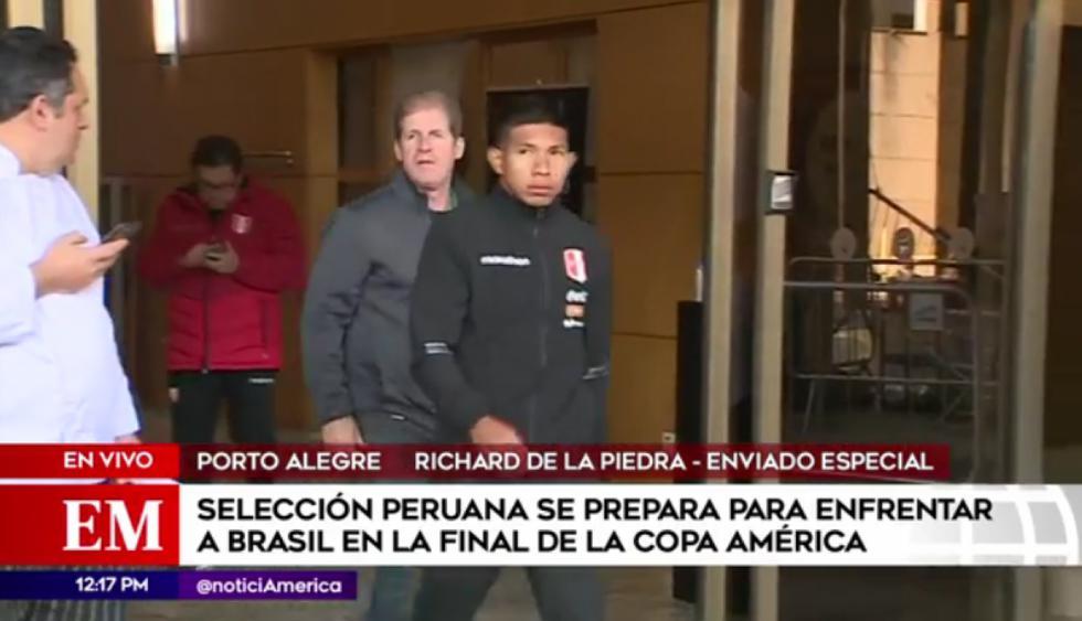 Edison Flores fue sometido a una resonancia magnética para saber si llega a la final de la Copa América