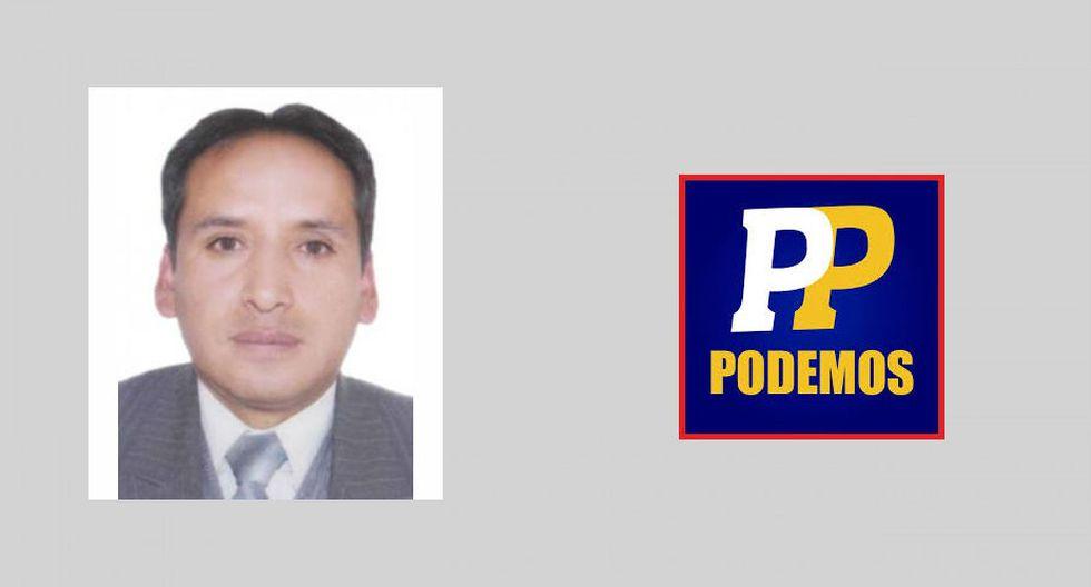 Pasco: Rudy Callupe, de Podemos por el Perú. (Foto: Perú Voto informado)