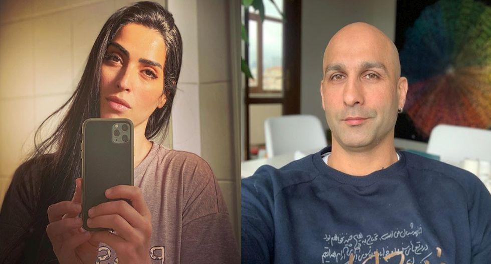 La pareja iraní no pretende regresar a su país natal. (Instagram)