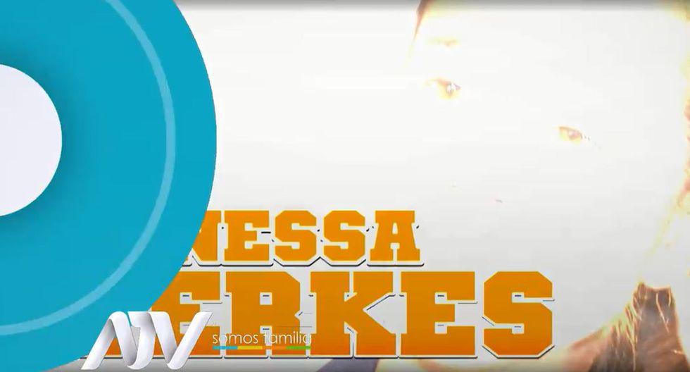 Vanessa Terkes habló sobre George Forsyth. (Capturas: ATV)