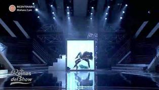 """Paula Manzanal baila """"Toxic"""" de Britney Spears en la quinta gala de Reinas del show"""