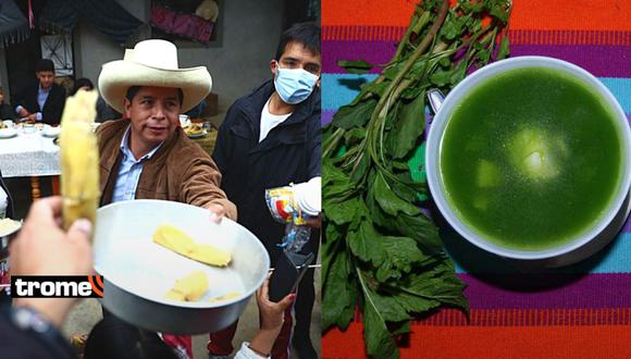 Receta de caldo verde, tamalitos, espesado y quesillo: Así se prepara el menú cajamarquino de Pedro Castillo