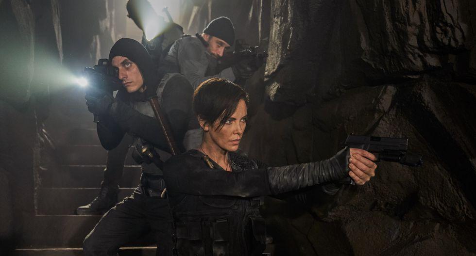 """Las primeras imágenes de """"La vieja guardia"""" con Charlize Theron. (Foto: Netflix)"""