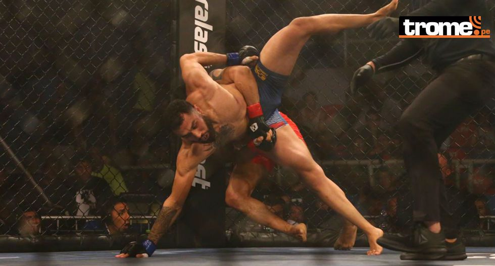 Espeluznante lesión en las MMA. (Fotos: Hugo Curotto/ GEC)